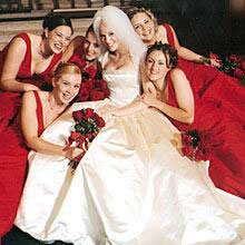 Если плакать невесте на свадьбе