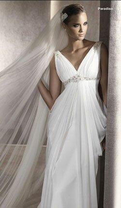 Платье в греческом стиле на свадьбу фото