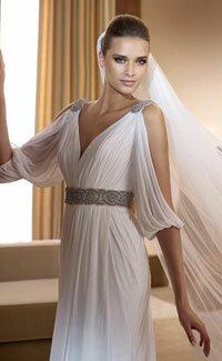 Свадебные платья из греции