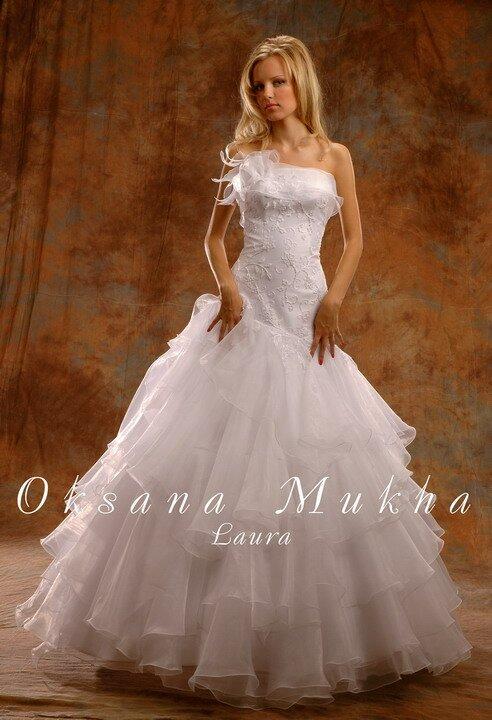 Свадебные платья оксаны мухиной