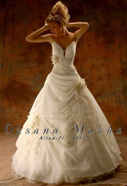 Платье свадебное оксана муха 2008