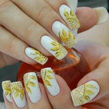 Свадебные дизайн ногтей фото